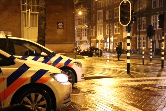 Melding overval De Lairessestraat