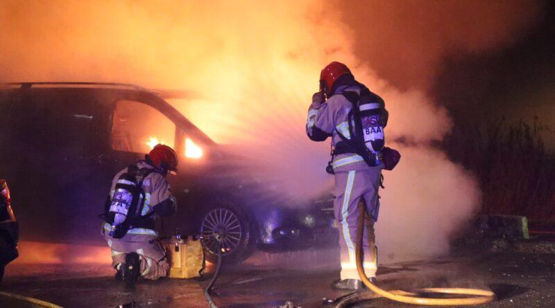 Autobrand in Buitenveldert