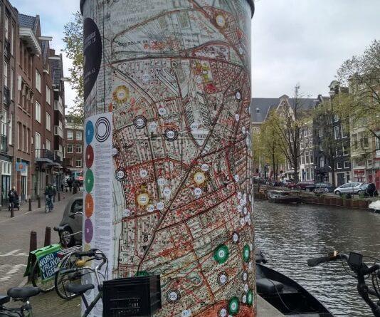 Op 4 mei wandelend herdenken in Amsterdam