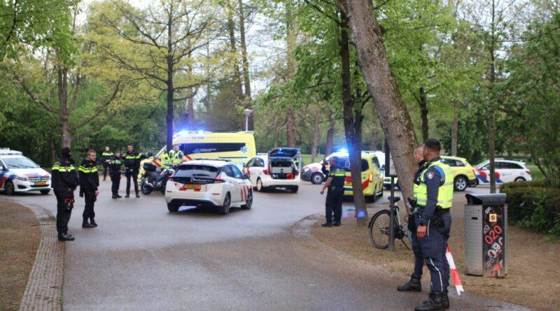 Steekpartij in Vondelpark