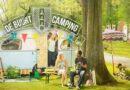 Martin Luther Kingpark wordt voor even camping
