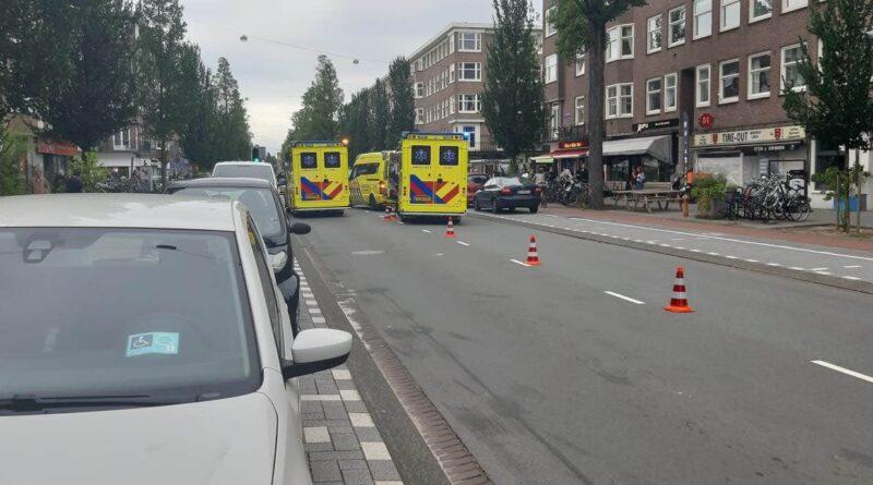 aanrijding Rijnstraat